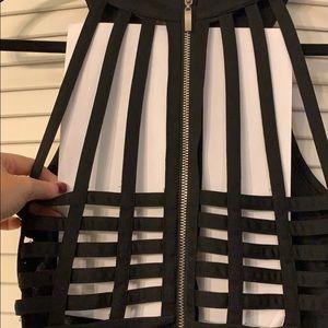 Windsor Dresses - Strapless black Windsor dress